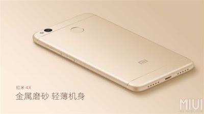 Fitur Canggih Xiaomi Redmi 4X