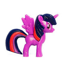 My Little Pony Chocolate Ball Figure Wave 2 Twilight Sparkle Figure by Chupa Chups