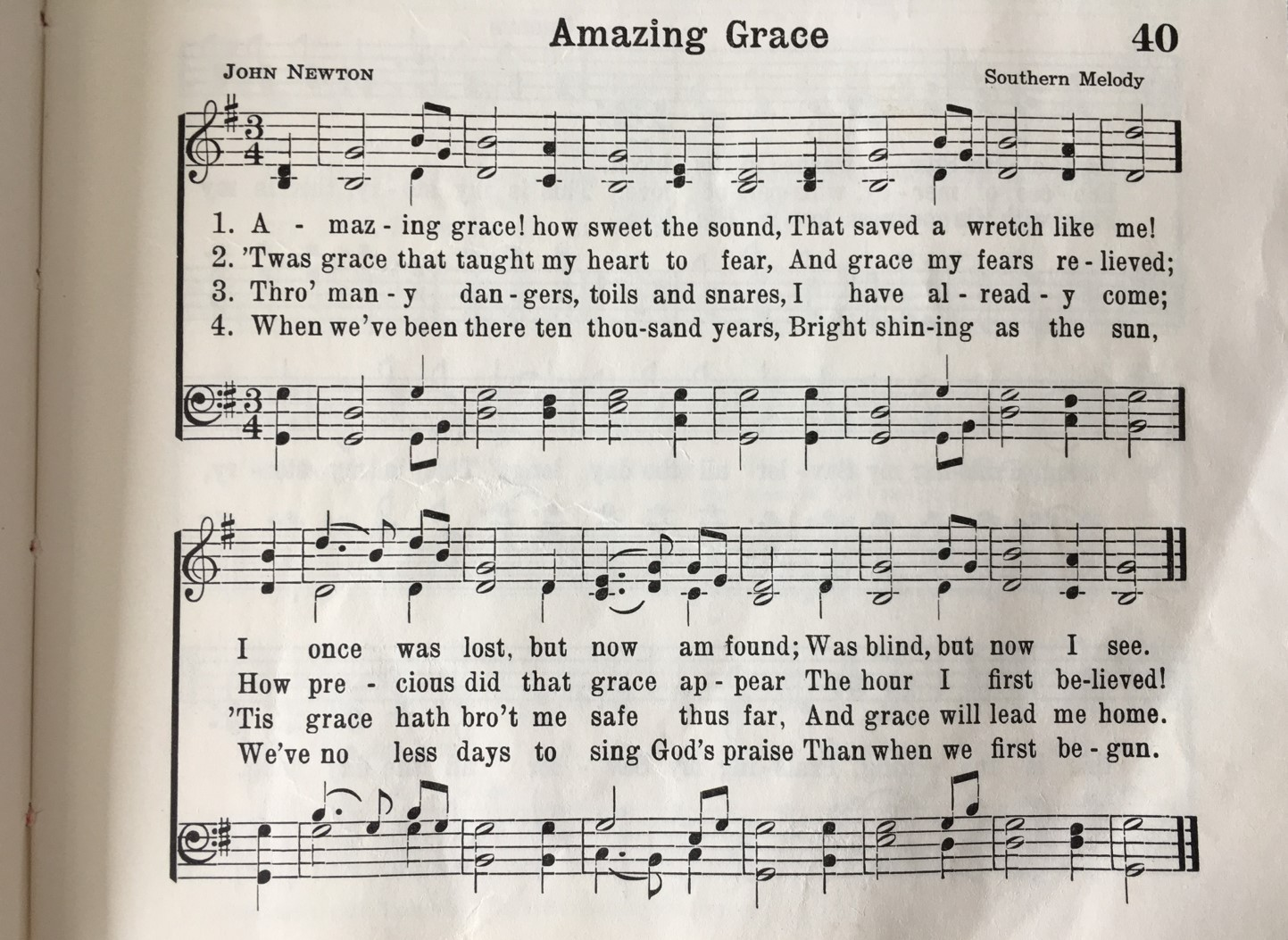 the metaphors in amazing grace by john newton Only god's amazing grace could and would take a rude, profane, slave-trading sailor and transform him into a child of god newton never ceased to stand in awe of god's work in his life new directions - john newton's conversion though newton continued in his profession of sailing and slave-trading for a time, his life was transformed.