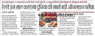 Railway Recruitment 2018 Indian Railway Jobs