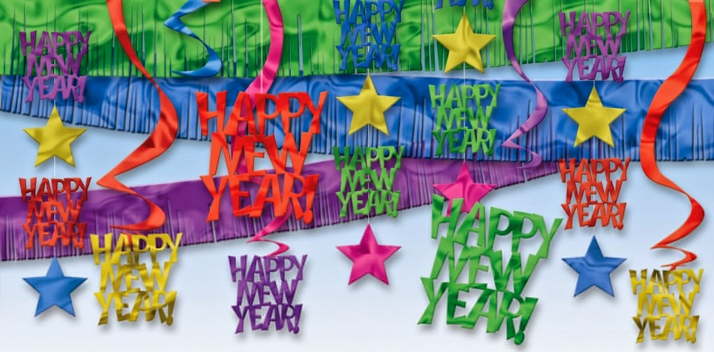 Happy New Year 2016 Home Decoration Images 3D