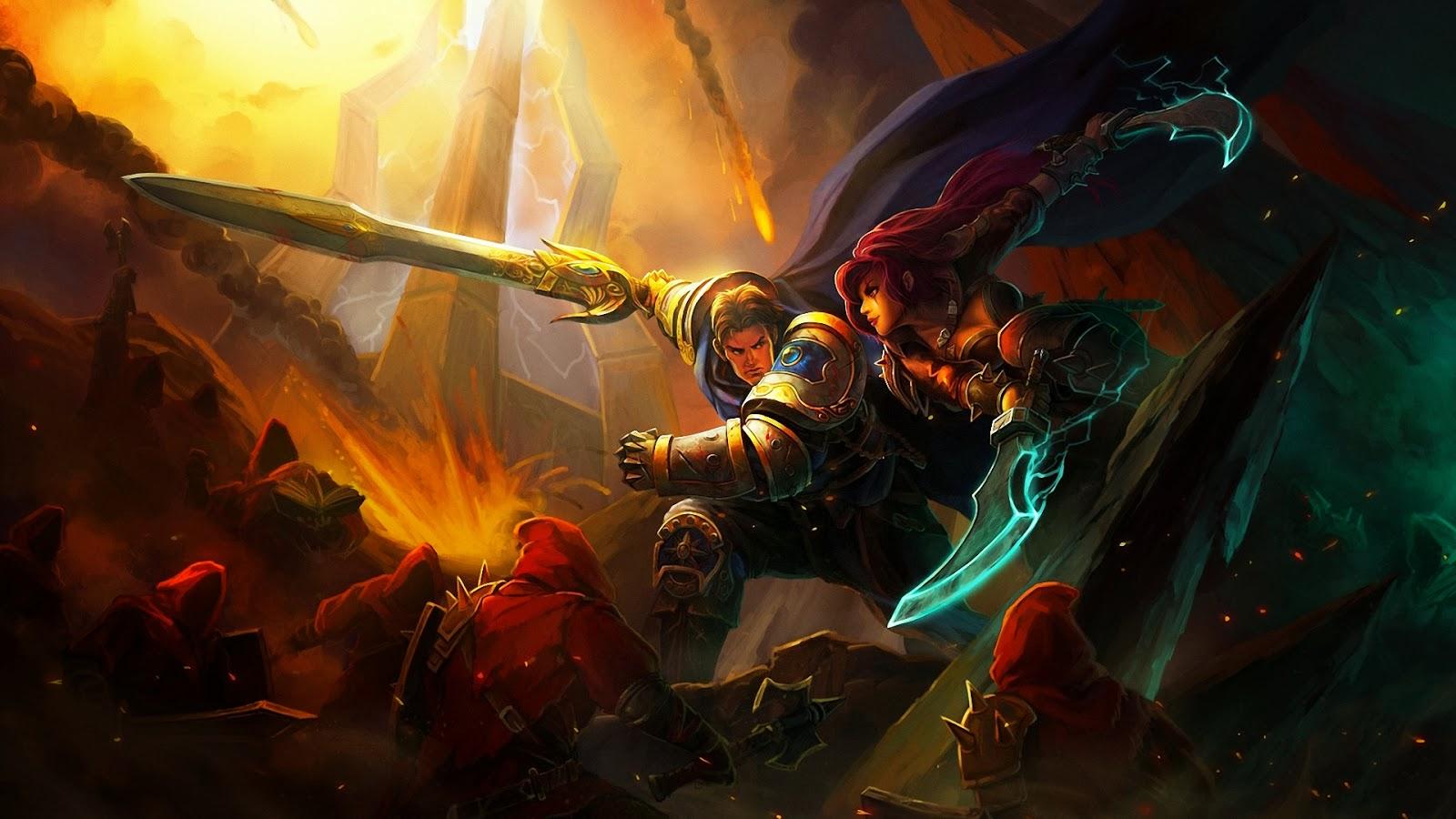 World Of Warcraft Wallpapers Hd Garen League Of Legends Wallpaper Garen Desktop Wallpaper