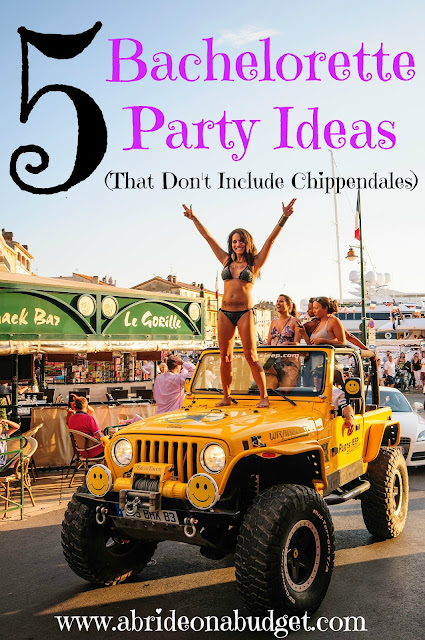 Planning a bachelorette party? Get 5 Bachelorette Party Ideas that don't include Chippendales.