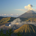 Beautiful Sunrise at Mount Bromo Indonesia