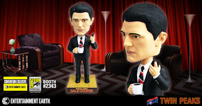 San Diego Comic-Con 2017 Exclusive Twin Peaks Agent Cooper Bobble Head by Bif Bang Pow! x Entertainment Earth