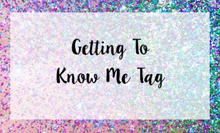 Getting To Know Me Tag