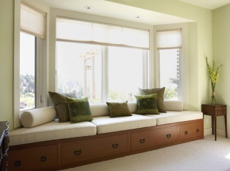 Long Window Seat Home Design