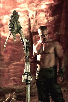 Vin Diesel Mânuieşte Un Toiag Din Oase În Noua Imagine Pentru Filmul Riddick 3