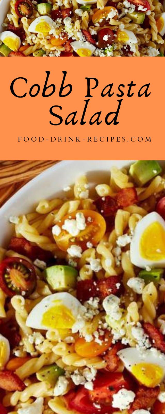 Cobb Pasta Salad - food-drink-recipes.com