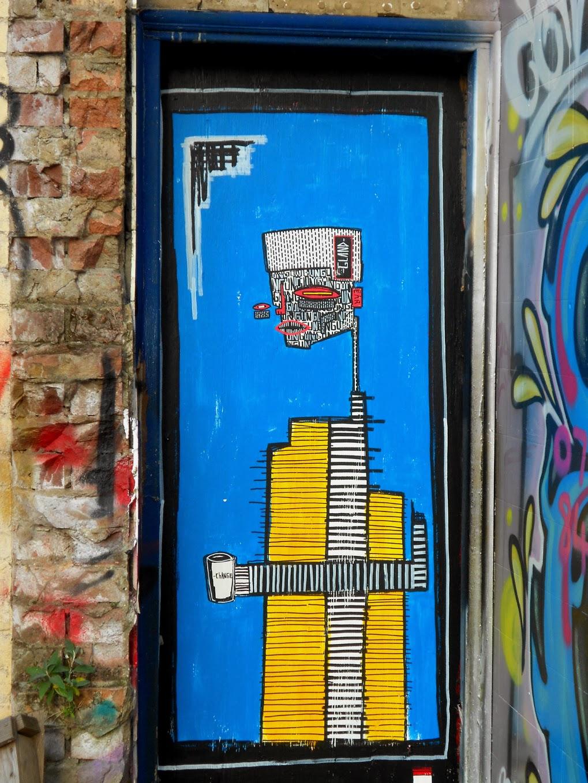 underground graffiti alo art wall street
