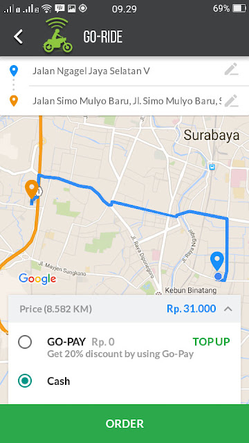 Aplikasi Gojek mendapat pembaruan, hadirkan layanan Go-Car dan tarif baru