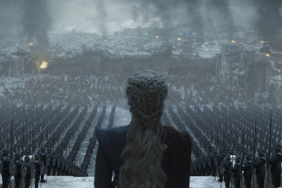 Daenerys Targaryen and her army, Game of Thrones season 8, episode 6