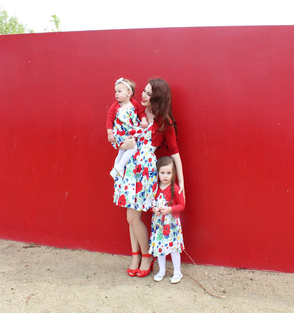 Matching Mother Daughter Outfits: Wild for Wildflowers in Trashy Diva