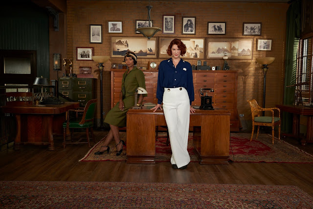 Frankie Drake Mysteries - A Fearless World in the 1920s!