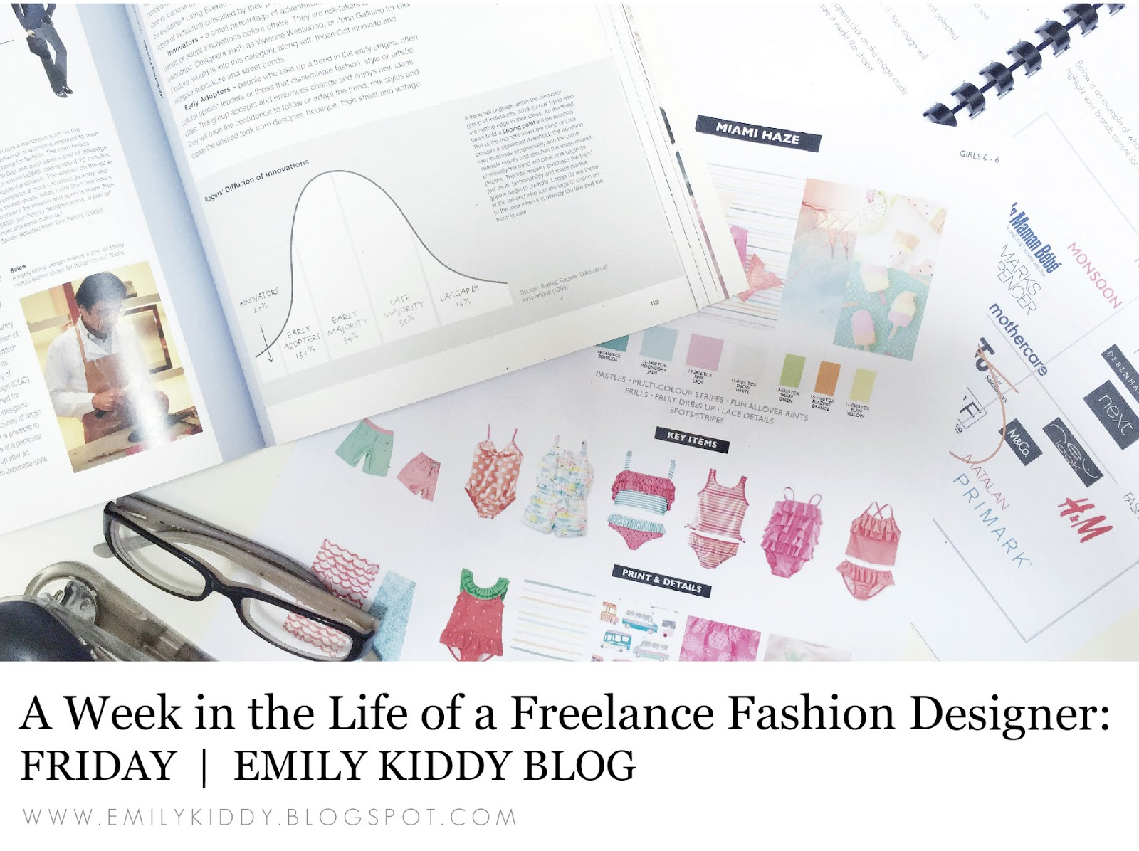 Emily Kiddy A Week In The Life Of A Freelance Fashion Designer Friday
