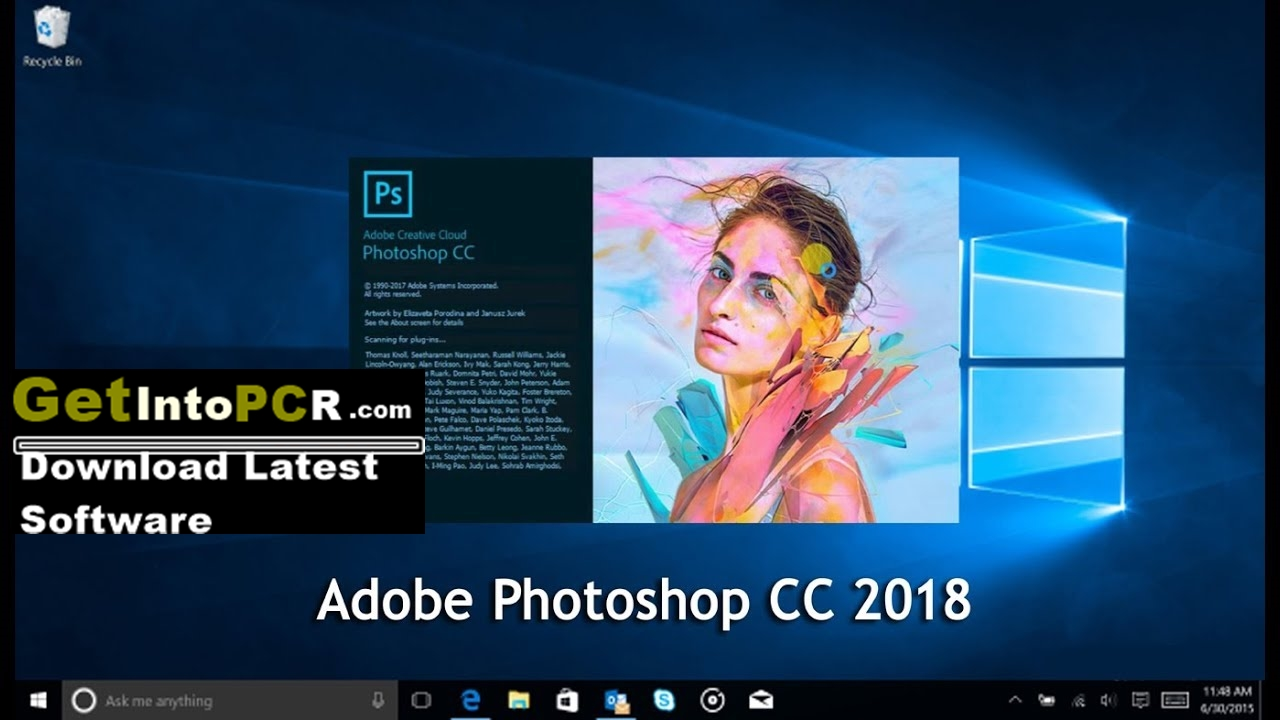 Adobe Photoshop CC 2018 Free Download Full Version For