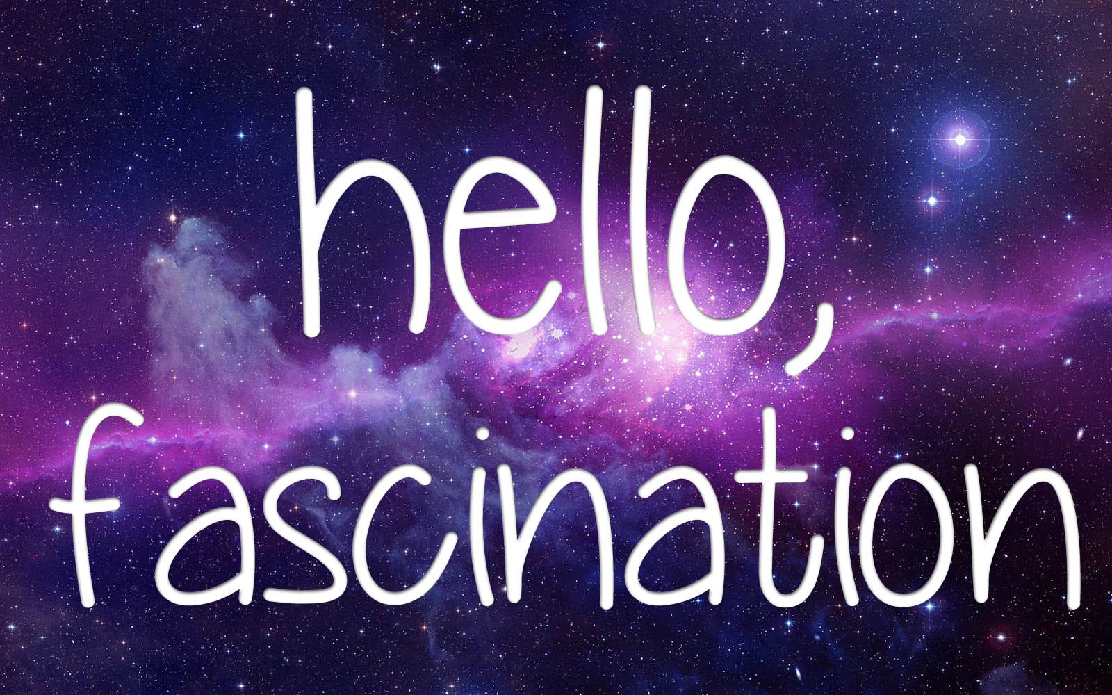 Kristazzi: Day 25 - Hello Fascination