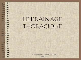 LE DRAINAGE THORACIQUE .pdf