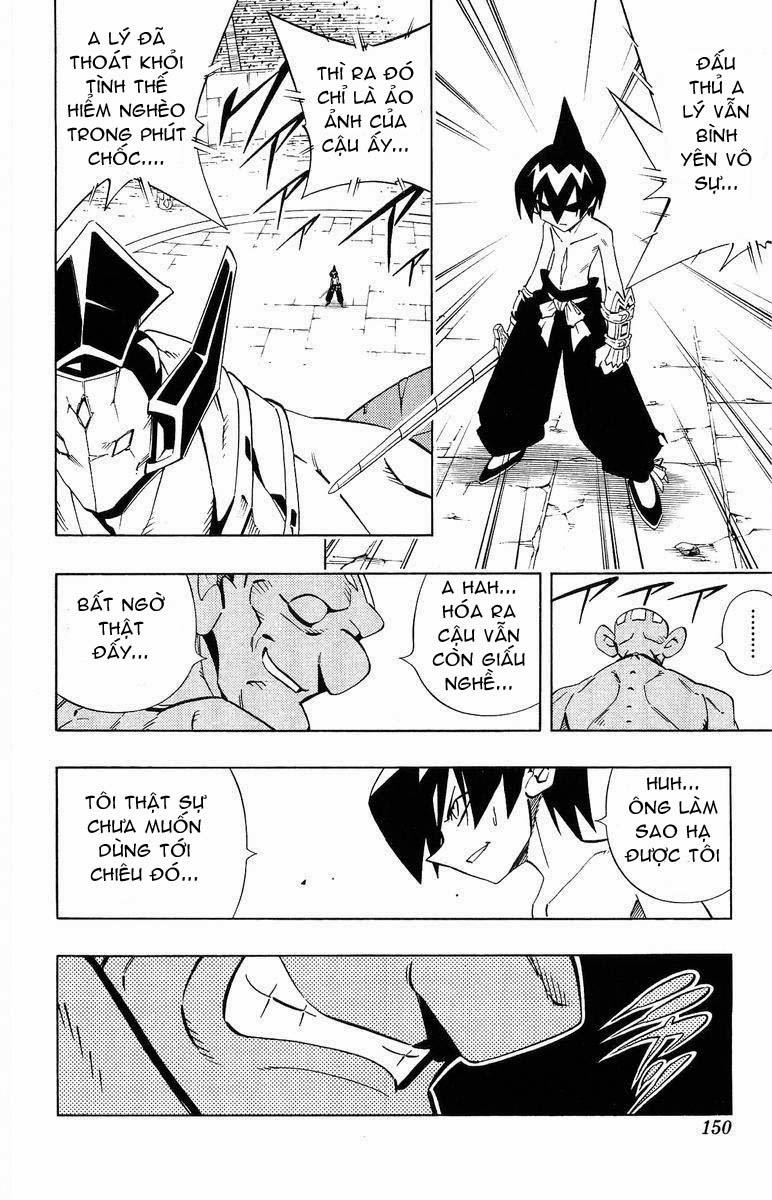 Shaman King [Vua pháp thuật] chap 223 trang 4
