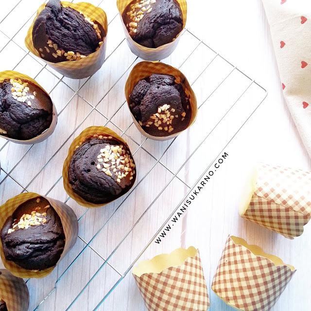 Resepi Coklat Cupcake Air Fryer Yang Gebu Dan Sedap Hanya 10 minit Siap