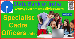 SBI Recruitment 2018 Apply Specialist Cadre Officer 407 Posts