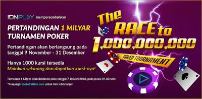 Tournament Poker IDNPlay 1M IndoWin99