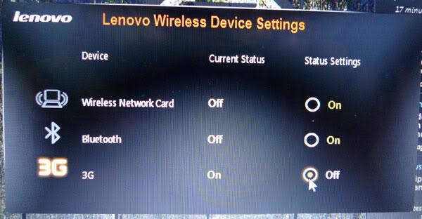 Lenovo Laptops: How to Enable 3G SIM CARD in Lenovo