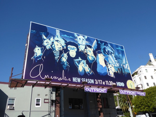 Animals season 2 billboard