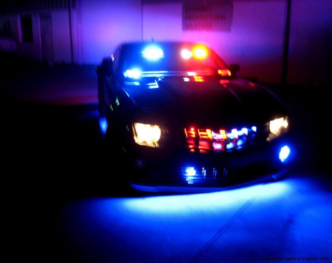 Police Car Lights Gif Wallpapers Gallery