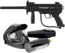 pistol-pinball, paintball, tembakan-cat, paintball