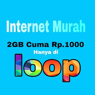 Cara Membeli Paket Internet Telkomsel 2GB Rp.1000 (Simpati loop).