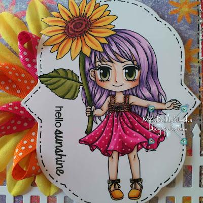 Art by Miran Sunflower Sara