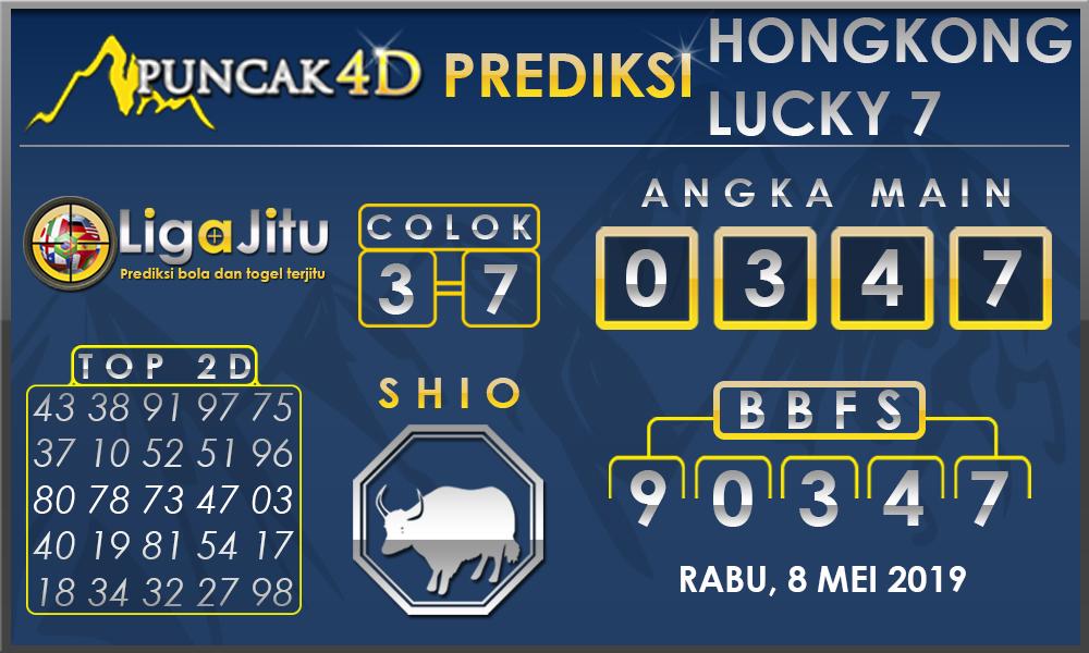 PREDIKSI TOGEL HONGKONG LUCKY7 PUNCAK4D 08 MEI 2019