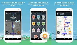 aplikasi gps android waze