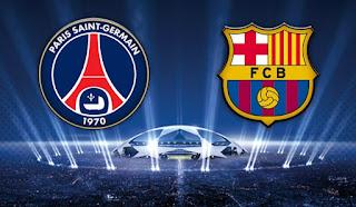 ملخص واهداف مباراة باريس سان جيرمان 4-0 برشلونة بث مباشر فى دورى ابطال اوربا