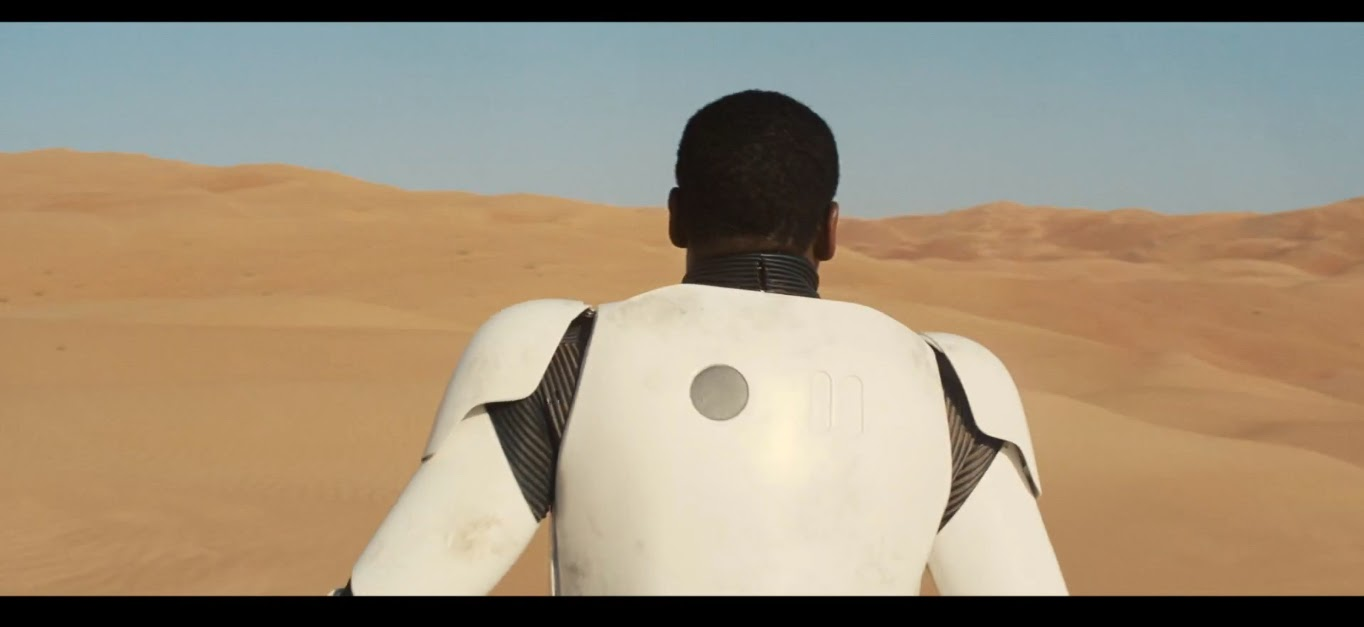 geek with curves: Star Wars: The Force Awakens Trailer - A