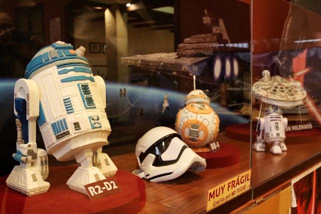 Mundo Star Wars en azúcar