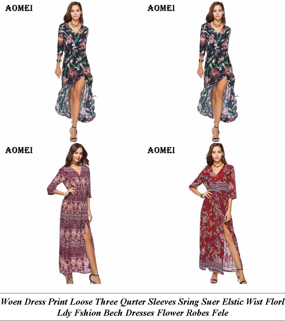 Evening Dresses - Clearance Sale Online India - Floral Dress - Cheap Clothes Online Uk