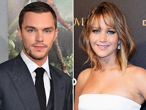 Nicholas Hoult and Jennifer Lawrence together again?