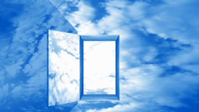bahkan segala yg dijanjikan berasal dari langit Jangan Ketuk Pintu langit, Tapi Gedor Yang Kuat