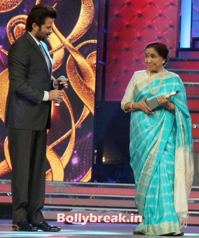 Anil Kapoor and Asha Bhosle
