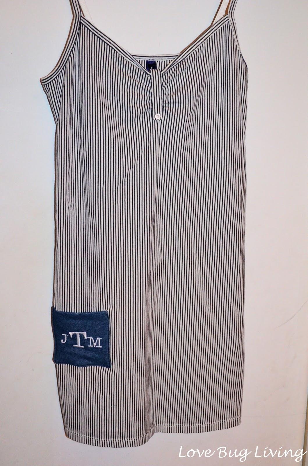 Love Bug Living Monogram Pocket Nightgown