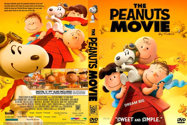 The Peanuts Movie – Latino, Inglés