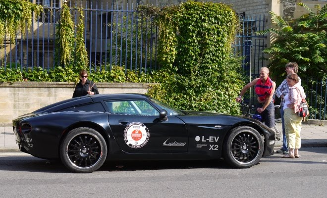 Lightning GT electric sports car