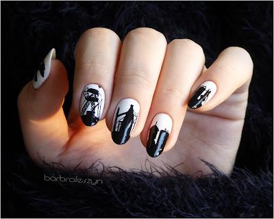 Barbórka paznokcie