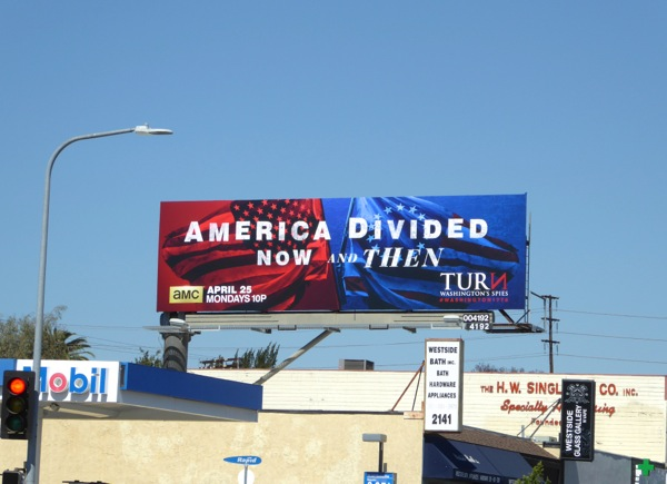Turn Washington's Spies season 3 billboard