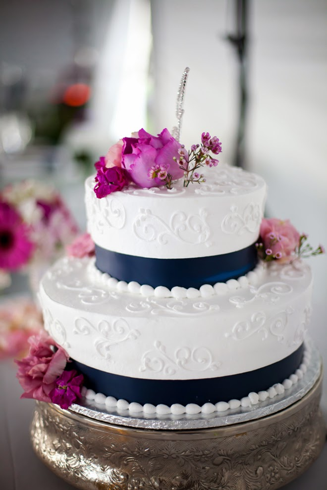 navy blue pink and gold wedding cake best wedding cakes of 2013 the magazine 17770