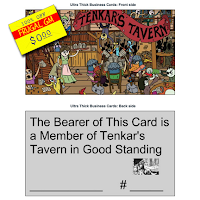 Free GM Resource: Tenkar's Tavern Membership