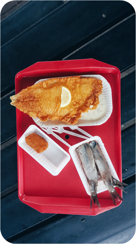 Matjes, Backfisch, Garnelenkrokettjes | Arthurs Tochter Kocht von Astrid Paul