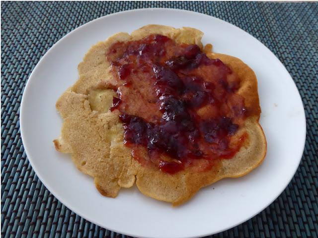 Ricetta dei pancake alla banana senza uova
